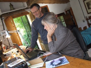Gyula and Maureen in Gallinero