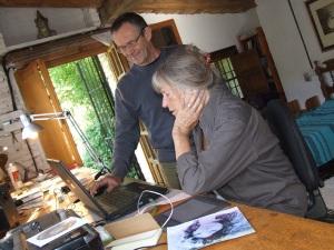 Gyula and Maureen in Gallinero