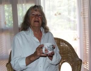 Maureen tea break